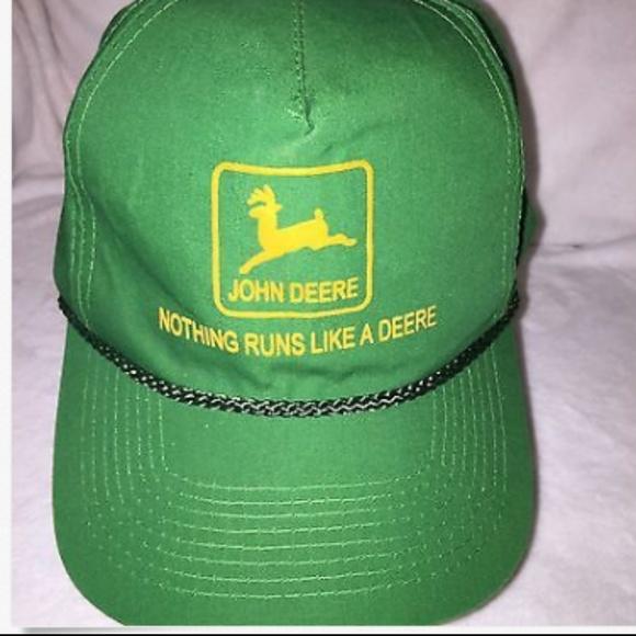 fdedb3c209a234 John Deere Accessories | Hat Green Trucker Vintage | Poshmark